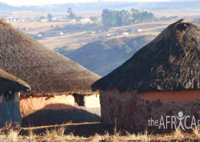 Nkandla huts 2007