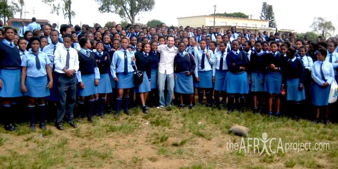 Velangaye students with Shahrooz 2008