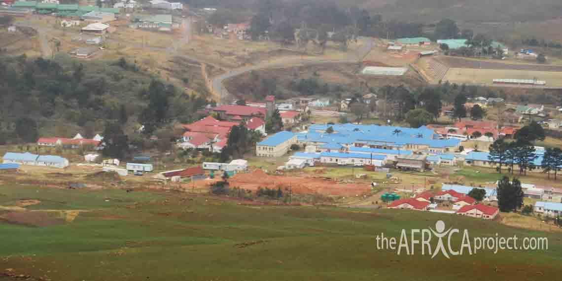View of Nkandla town by Stephanie 2007