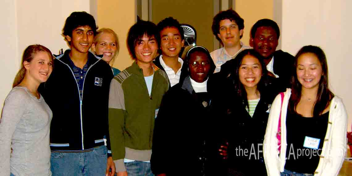 WOAC 2005 Youth Board with Mahaye and Hedwig