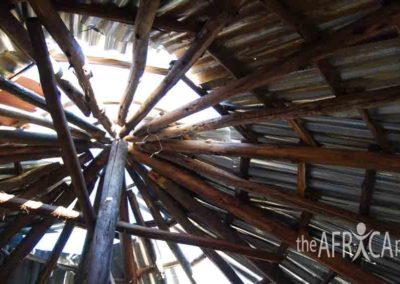 Nkandla hut roof 2007