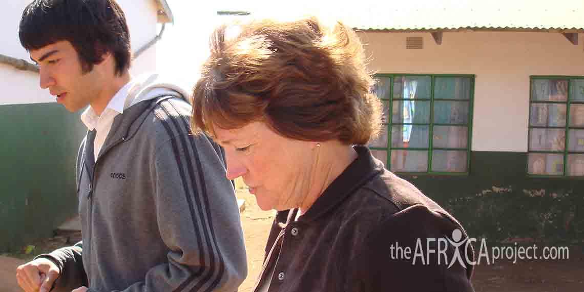Gail Richards and Gabe Nishimura at Velangaye 2006
